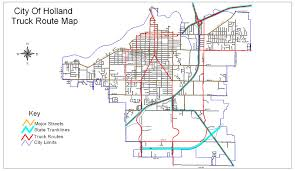 Miscellaneous City Maps | City Of Holland Michigan Official Website