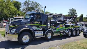 100 Carlisle Truck Show HJ Towing Recovery PA Kenworth T880 Twin Steer W 1075