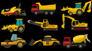 Learn Construction Vehicles |Heavy Vehicles & Trucks For Children ...