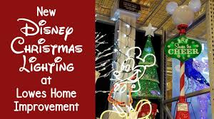 Ge Itwinkle Light Christmas Tree by New Disney Christmas Lighting At Lowes Bring The Magic Home