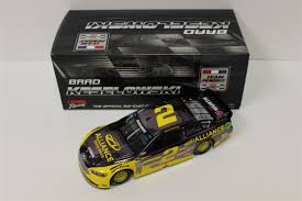Brad Keselowski Diecast 2 2016 Alliance Truck Parts Color Chrome 1 ...