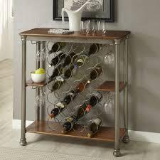 Unique Corner Wine Racks Ideas Elegant Rack With Three