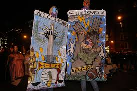Little Five Points Halloween Parade Pictures by Trump Wigs And Hillary Masks Political Satire Was On Parade At