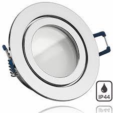 einbauleuchte rund feuchtraum badezimmer led spot 5 watt