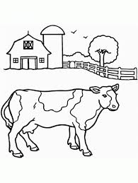 3079 Free Printable Pictures Cow Animal Coloring Page For