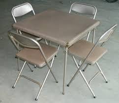 7733 2533 vtg retro samsonite folding card table 4 chairs set 30