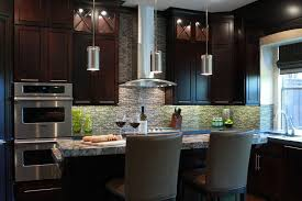 lovable contemporary mini pendant lighting kitchen in house design
