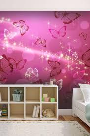 tapisserie chambre fille ado spécialiste français papier peint enfants papillons salon