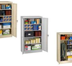 Tennsco Standard Storage Cabinet by Tennsco Tall Assembled Storage Cabinets U2013 Bigdogwarehouse