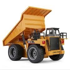 100 Big Toy Dump Truck 118 24G 6CH Remote Control Alloy RC Truck