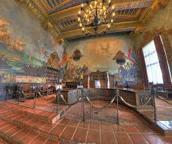 Santa Barbara Courthouse Mural Room by Santa Barbara Courthouse Mural Room 28 Images Mural Room Santa