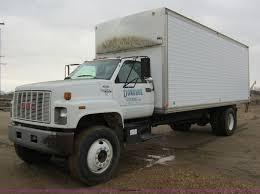 100 Top Kick Truck 1994 GMC Box Truck Item A5609 SOLD March 28 Ag