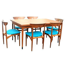 Danish Dining Room Chairs Table Set Teak Tables A Three