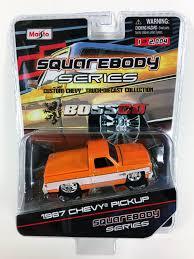 100 1987 Chevy Truck Parts MAISTO BOSSCO CHEVY SILVERADO METALLIC ORANGE 1 OF 2004