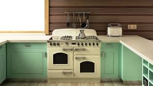 Kitchen Decorating Ideas For An Old Apartment By Rentblog With Mint Green Cabinets