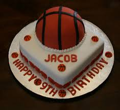 Ever After Cake Designs  Birthday Cakes  Basketball Birthday Cake