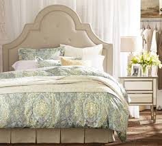 Pottery Barn Seagrass Headboard by Magnificent Pottery Barn Headboard Fallon Upholstered Headboard