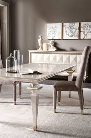 100 Designer High End Dining Chairs Luxury Italian Rectangular Mother Of Pearl Set In