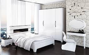 feldmann wohnen schlafzimmer set verona set 6 tlg 1 kleiderschrank 1 bett 2 nachtkonsolen 1 schminkkonsole 1 spiegel liegefläche 160