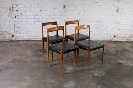 set 2 lübke cor esszimmer stühlen nussbaum 1960er