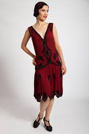 Vintage Evening Dresses And Formal Gowns KATHE BEADED DRESS IN SUMPTUOUS RED EUR47000 AT