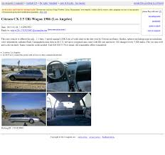 Beaterblog: Marketplace Feature: 1986 Citroen CX Wagon Can We Have A Craigslist Z Funnies Thread My350zcom Nissan Clearfield Utah Used Cars And Trucks By Private Owner Off Road Classifieds Ford Bronco Race Vehicle Or Pre Runner Long S331 Saleen Owners Enthusiasts Club Soec Aiding The And Carsjpcom Craigslist Los Angeles Cars Amp Trucks Owner Search Oukasinfo 10 Pickup You Buy For Summerjob Cash Roadkill Car For Sale By In Mcallen Tx Best En Boise Idaho 2017 El Paso Luxury Los