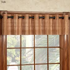 Light Filtering Thermal Curtains by Bamboo Light Filtering Grommet Panel