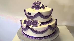 New Ideas Purple Wedding Cake With