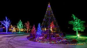 Flag Pole Lights Christmas