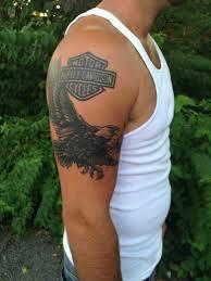 Teknixhealed Cover Up Eagle And The Harley Davidson Logo That I