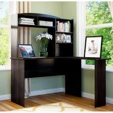 Ameriwood L Shaped Desk With Hutch by Desk Bushfairviewlshapedcomputerdeskandhutchantiquewhite