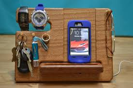iPhone Dock Wood iPhone Wooden Station iPhone Docking any