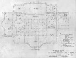 Chateau Floor Plans Carolands Foundation
