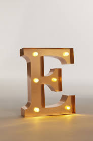 Neon Letter Light By The Letteroom Notonthehighstreetcom