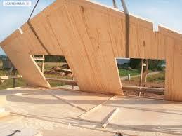 maison bois lamelle colle maison modulaire contemporaine en bois lamellé collé à