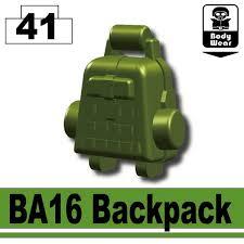 Tank Green BA16 Backpack