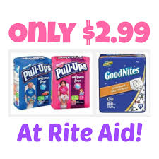 Rite Aid Small Christmas Trees by Huggies Pull Ups Or Goodnites Package Only 2 99 Reg 12 99 At