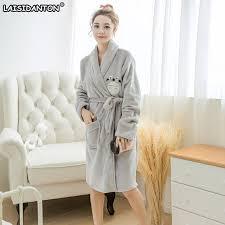 robe de chambre femme totoro peignoir à capuche robes pour femmes robe de chambre peignoir