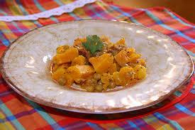mijoté de butternut aux pois chiches et abricots secs la cuisine