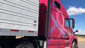 100 Pink Truck Heres Why There Is A Pink Semitruck Driving Around KIFI