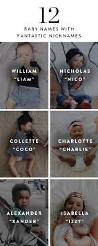 Baby Names With The CUTEST Nicknames Names Pinterest Pregnancy