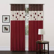 Amazon Swag Kitchen Curtains by Amazon Com Lush Decor Royal Embrace Valance 18 Inch By 42 Inch