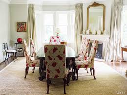 Dining Room Chairs Red Queen Anne