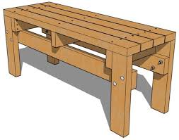 2x4 Bench Seat Plans Woodworking Projects