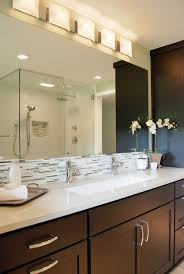 anyone have a single trough sink w 2 faucets in master bathroom