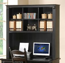 Black Writing Desk With Hutch by Homelegance Pottery Writing Desk Hutch 875 10