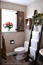 Full Size Of Bathroom Accessoriesbathroom Towel Rack Ladder Rustic Interior Window Shutter And Floating