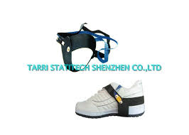 synthetic rubber unisex esd grounding anti static heel grounder