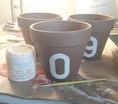 Americana Decor Chalky Finish Paint Walmart by Diy Address Number Pots