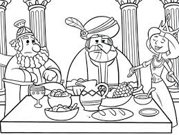 Queen Esther Coloring Pictures Prepare Dinner Pages Becomes
